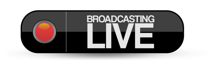 Live Broadcast Button