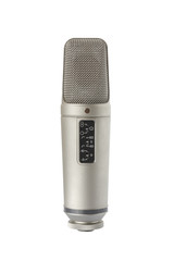Condenser microphone - front view