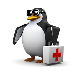 3d Penguin paramedic
