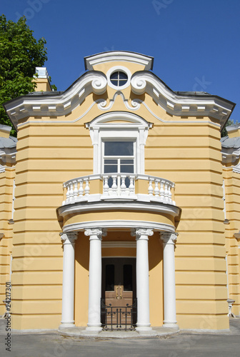 Colonnade and Balcony