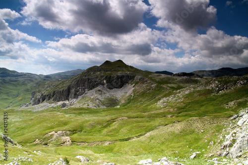 Sutjeska national park mountain Zelengora