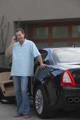 Owner of luxury vehicle