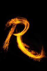 炎のアルファベット
