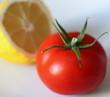 tomatoe and lemon