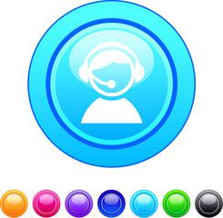 Operator circle button.