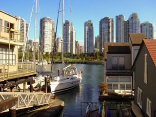 Hausboot in Vancouver