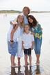 Summer family portrait