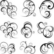Swirling flourishes decorative