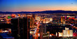 Las Vegas City Skyline panorama
