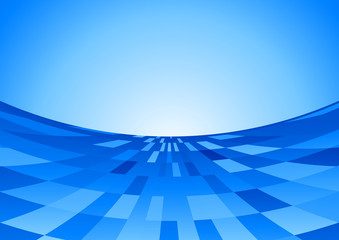 Blue digital background template