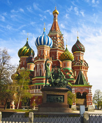 St. Basil's (Pokrovskiy) cathedral, Moscow