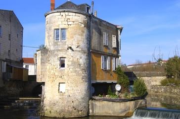 Anciens bains de juin à Niort