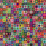 Fototapety Abstract geometric vector squares background