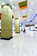 Leinwanddruck Bild - Passenger in the subway station in Shanghai