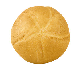 fresh baked kaiser bun