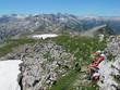 brotzeit auf  2276 meter