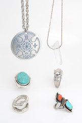 Necklaces and Rings