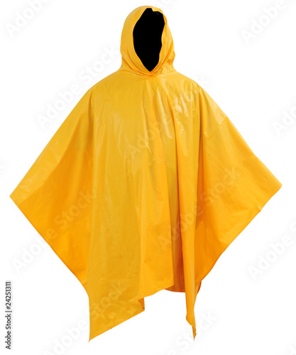 Raincoat. Isolated