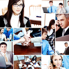 background of a business people