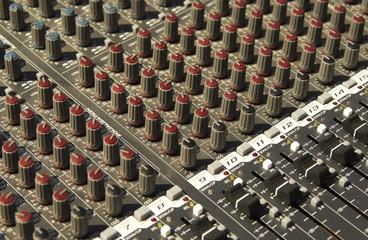 Sound system texture