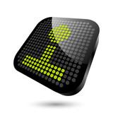 spiel spielen joystick symbol zeichen poster