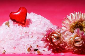 Spa salt composition