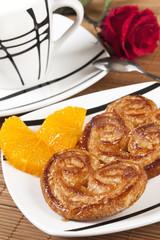 Desayuno con rosas