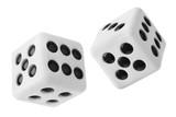 Gambling dices poster