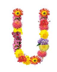 flower letter