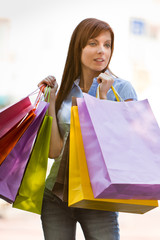 Shopping en ville