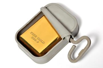 vieille réserve d'or
