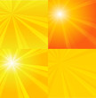 Sunburst vector backgrounds