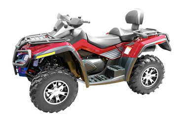 grand 4x4 atv isolated