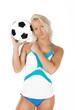 cute fan with ball