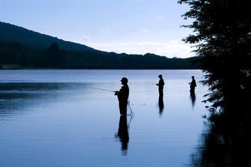 Fishing at Daybreak
