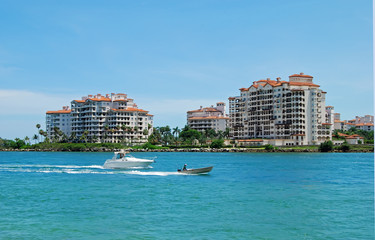Condo Complexes on Fisher Island