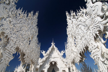 White Temple (rongkun),Chiang Rai, Thailand