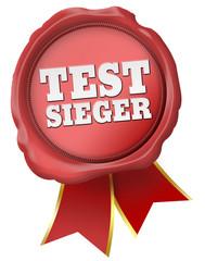 siegel testsieger
