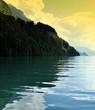 lac de brienz en suisse