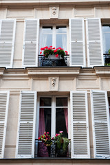 Typical French windows