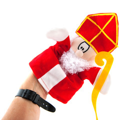 hand puppet Sinterklaas