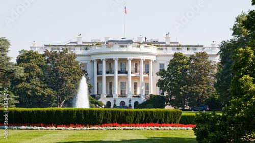 Leinwanddruck Bild das Weiße Haus in Washington D.C.