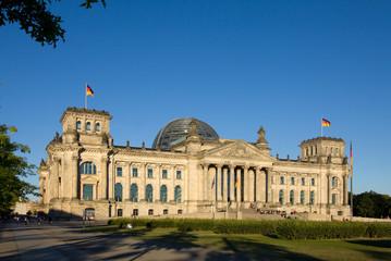 Reichstag am Abend