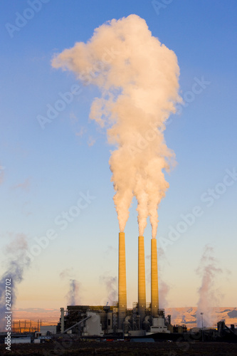 power plant in Page, Arizona, USA