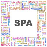 SPA. Square frame with association terms.