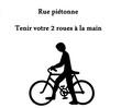 descendre de vélo