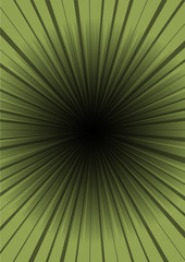 Green vector hyper speed tunnel abstraction