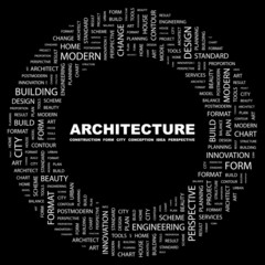 ARCHITECTURE. Circular frame with association terms.