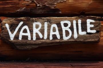 variabile