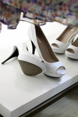 High heel female shoes